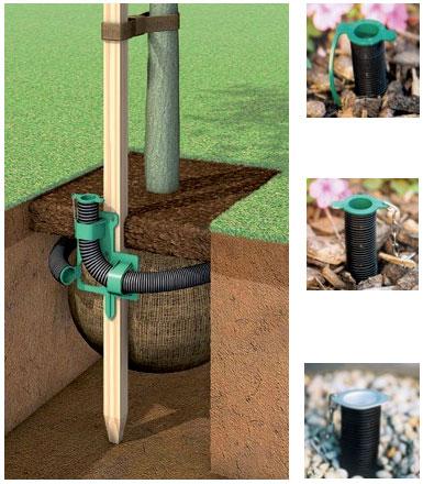 Sustav za podzemno zalijevanje korijena